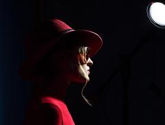 Julia (Bonngasse20) Tags: model fashion wwwphotoioncouk ionpaciu london girl pretty beautiful studio fashionmodel pose workshop coat sunglasses blondehair nikon nikond7200 d7200 lens sigmalens studiolighting beautydish softbox props overcoat pensive hat summerhat redhat