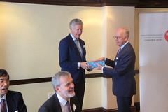 07-06-2018 Exclusive Luncheon with Secretary of State Pieter De Crem - DSC08992