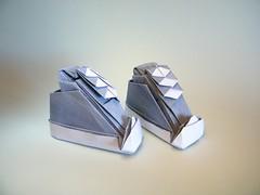 Converse - Nicolas Gajardo (Rui.Roda) Tags: origami papiroflexia papierfalten converse nicolas gajardo