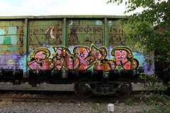 IMG_8427 (Freight_punk) Tags: saber fr8 freights freightheaven freightporn freighttrain freighttraingraffiti freightlife freightlove freightgraffiti graffiti colorful colors gondolacar russianfreightgraffiti freighttrainwriting traingraffiti trainwriting moscow russia