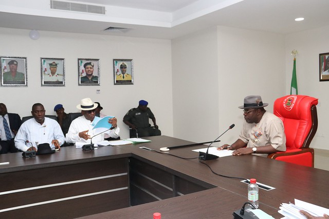 HSDickson- Meets With Public Service Reforms Committee Members on 4th June 2018