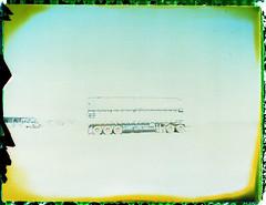 1616 (The Dent.) Tags: polaroid negative bleach process south australia mamiya universal fp100c