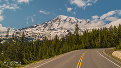 All Roads lead to Paradise. :) (Loowit Imaging - Steve Rosenow, Photographer) Tags: mountrainier mtrainier tahoma mountrainiernationalpark nikon nikond5500 nature scenic scenery volcano volcanic lake forest