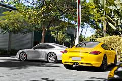 Porsche 911 Carrera 4S & Cayman S (Jeferson Felix D.) Tags: porsche cayman s 987 porschecaymans987 porschecaymans porschecayman porsche987 911 carrera 4s 997 porsche911carrera4s997 porsche911carrera4s porsche911carrera porsche911 canon eos 60d canoneos60d 18135mm rio de janeiro riodejaneiro brazil brasil worldcars photography fotografia photo foto camera