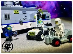50-03 Buggy Race (captainmutant) Tags: afol classic space lego ideas legospace legography photography minifig minifigs minifigure minifigures moc sciencefiction science fiction scifi exploration brickography toy custom