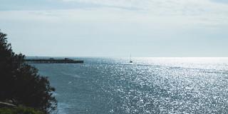 Sailing on a Glistening Sea