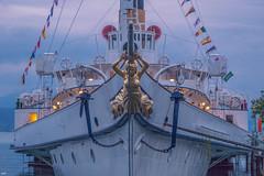 Figure de proue (axel274) Tags: canon g5x lausanne powershot schweiz suisse switzerland vaud cgn lasuisse bateau léman lacléman romandie