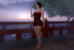 Suzu visits Moocake sim (Alea Lamont) Tags: ndmd suzu asian skins vintage fair vista bento head diana japanese teenager chinese woman girl thai female korean shapes 1920 maitreya body iconic betty hair narcisse jean flapper dress