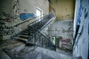 (kly420) Tags: img8308hdr2 kly420 2018 lostplace urbex abandoned decay beautiful treppenhaus treppe geländer sachsen saxony germany stairwell staircase handrail