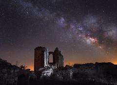 Hubo mejores tiempos (Chusmaki) Tags: nocturnas via lactea galaxia omd olympus
