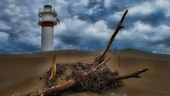 + Faros 225 (jburzuri) Tags: fardelfangar catalunya faro lighthouse tarragona flickrunitedaward deltebre
