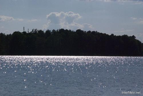 Шацький Національний Природний Парк Озеро Пісочне  Блиск сонця в воді InterNetri  Ukraine 109