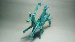 Leaf Sea Dragon (GGIamBatman) Tags: origami papiroflexia leaf sea dragon kamiya hoja mar