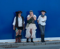 Pirate Day at Swanage. (rickfrancis105) Tags: pirates swanage
