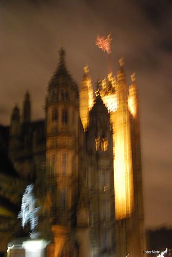 Парламент і Біг Бен Лондон вночі InterNetri United Kingdom 0449