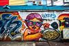 One Eye on the Pad Thai (Matt Molloy) Tags: mattmolloy photography graffiti street art spraypaint colourful bold bright tags padthai chicken person glasses wall alley buildings phranakhon bangkok thailand lovelife