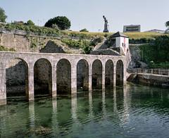Baths (@davidflem) Tags: devonport plymouth devon mountwise mamiya7 65mm kodak portra400 120film 6x7 mediumformat filmphotography istillshootfilm