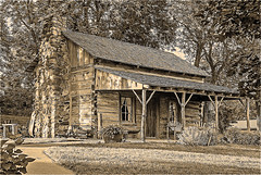 The Old Cabin (garywitte845) Tags: cabin log artistic 1870s building house