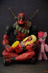 fun time (notatoy) Tags: toy marvel deadpool little pony lego action figure legends
