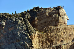 Crazy Horse Memorial (MarkusR.) Tags: mrieder markusrieder nikon d7200 nikond7200 vacation urlaub fotoreise phototrip usa 2017 usa2017 southdakota blackhills crazyhorsememorial crazyhorse rock fels thunderheadmountain sculpture skulptur grösenwahnsinn megalomania