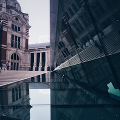 Reflect (Olly Denton) Tags: design mirror outside glass building reflection reflect sky window museum gallery artgallery galleries shine architecture architectureporn architectureobjects architecturephotography architecturalphotography iphone iphone6 6 vsco vscocam vscolondon vscouk ios apple mac shotoniphone victoriaalbertmuseum va knightsbridge royalboroughofkensingtonchelsea rbkc london uk