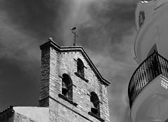Campanario, Badajoz, Extremadura, España. (Caty V. mazarias antoranz) Tags: campanario badajoz extremadura españa spain cigüeñas cielos sky aves zancudas voladoras equilibristas patosas pueblosdeextremadura pueblosdebadajoz camposextremeños laserena comarcadelaserena nwn