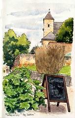 St Amand de Coly chez C'art thé sien (Cat Gout) Tags: saintamanddecoly abbaye village eu église périgord uskfrance
