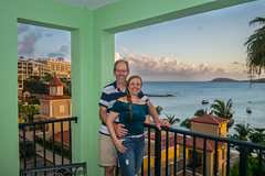 Nothing but smiles here! (tquist24) Tags: frenchmanscove hww marriott nikon nikond5300 pacquereaubay people stthomas usvirginislands virginislands wanda balcony clouds couple geotagged girl hotel island lady man me ocean portrait pretty sky smile smiles tropical water woman beach
