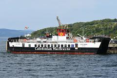 MV Loch Riddon - Largs - 19-05-18 (MarkP51) Tags: mvlochriddon largs firthofclyde roroferry caledonianmacbrayne ship boat vessel maritimephotography sunshine sunny nikon d7200