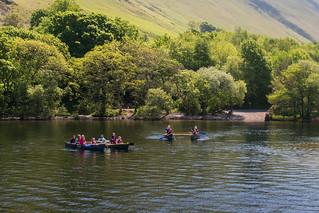Ullswater canoeists