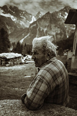 tarcisio ([ I w a n ]) Tags: valcodera italy lombardia alps portrait monochrome lowlight sonya7ii bresciadega rifugiobresciadega