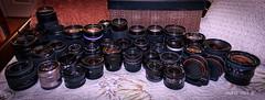 Lenses of the magic tools. (Aglez the city guy ☺) Tags: lenses experiment indoor experimentación
