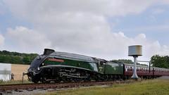 Gresley's Masterpiece: 60009 (Gerald Nicholl) Tags: lner gresley a4 60009 unionofsouthafrica express steam engine loco train rawtenstall bury elr eastlancashire lancashire