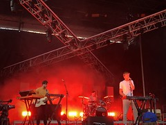Cut Copy, Upstream Music Festival, Pioneer Square, Seattle (Paddy O) Tags: music stage pioneersquare sodo seattle upstreammusicfestival concert band cutcopy 2018