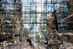 stadszicht (roberke) Tags: digitalart photomontage photoshop layers lagen textures textuur creation creative creatief surreal fantasy cityscape city architecture architectuur