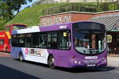 Volvo B7RLE Wright Eclipse Urban (DennisDartSLF) Tags: norwich bus volvo b7rle wright eclipseurban 66977 first norwichnetwork purpleline kx05mha