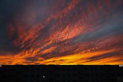 Sunset / @ Dresden / 2010-11-14 (astrofreak81) Tags: sunset dresden night clouds