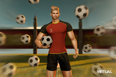 Russia Soccer World Cup (Satuex Resident) Tags: thebeardedguy dufaux letre doux satuex angel king equal10 event pose mesh bento satuexangelking angelking soccer football spain russia worldcup tshirt ball signature signaturegianni male guy gay dude man men equal10event cave mancave mancaveevent secondlife second life virtual secondlifevirtual sl fashion secondlifefashion blog blogger blogging wordpress millocopperfield millo copperfield