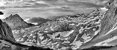 Blick von der Meilerhütte (sharpals) Tags: meilerhütte alpen wettersteingebirge schnee berge landscapes breathtakinglandscapes bayern bavaria tirol