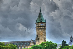 think it will rain? (albyn.davis) Tags: weather clouds sky building luxembourg europe travel