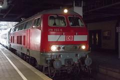 218 322-6 IC 2415 Burg-Hamburg (Disktoaster) Tags: eisenbahn zug railway train db deutschebahn locomotive güterzug bahn pentaxk1 westfalendampf