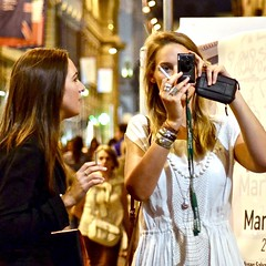 Night shots (tonyhudson12526) Tags: friends smoking cigarette street candid italy florence