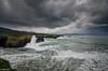 Mar de fondo / groundswell (tmuriel67) Tags: ocean seascape olas watercolors waves waterscapes galicia spain cantabrico outdoors acantilados rocks atlanticocean