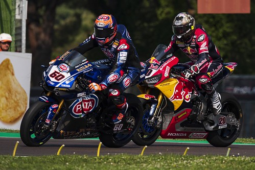 """WSBK Imola 2018 • <a style=""""font-size:0.8em;"""" href=""""http://www.flickr.com/photos/144994865@N06/27498553707/"""" target=""""_blank"""">View on Flickr</a>"""