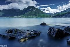 Un petit air de Marquises (paul.porral) Tags: lake lac wasser water landscape landschaft nature paysage longexposure poselongue flickr ngc annecy france alps blue