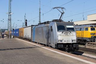 Railpool 186 455 Basel Bad