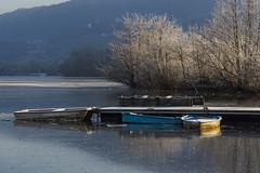 Lac de Ste Hélène. (Tieph38) Tags: lac sainte hélène savoie hiver glace givre gel landscape landscapephotography paysages nature naturephotography saisons montagne
