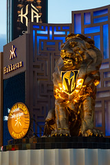Vegas Golden Knights - MGM Grand Lion (James Marvin Phelps) Tags: nevada lasvegasstrip lasvegas mgmgrand vegasgoldenknights mgmgrandlion nhl playoffs stanleycup 2018 photography jamesmarvinphelps jamesmarvinphelpsphotography