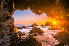 Malibu California Ocean & Beach Sea Cave Sunset! Beautiful Vista Views! Epic Malibu Long Exposure Fine Art Landscape Seascape HDR Photography! Elliot McGucken Scenic Fine Art Photos! Nikon D810 & Sharp AF-S NIKKOR 14-24mm f/2.8G ED Lens Wide Angle Zoom! (45SURF Hero's Odyssey Mythology Landscapes & Godde) Tags: malibu california ocean beach sea cave sunset epic long exposure fine art landscape seascape hdr photography elliot mcgucken nikon d810 sharp afs nikkor 1424mm f28g ed lens wide angle zoom glass beautiful surf the surfs up dx4dtic 45epic
