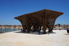 2018-05-FL-186869 (acme london) Tags: 2018 arsenale bamboo exhibition italy pavilion seating shading structure venice venicebiennale venicebiennale2018 warped wood